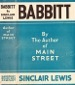 Sinclair Lewis - Babbitt - First Edition